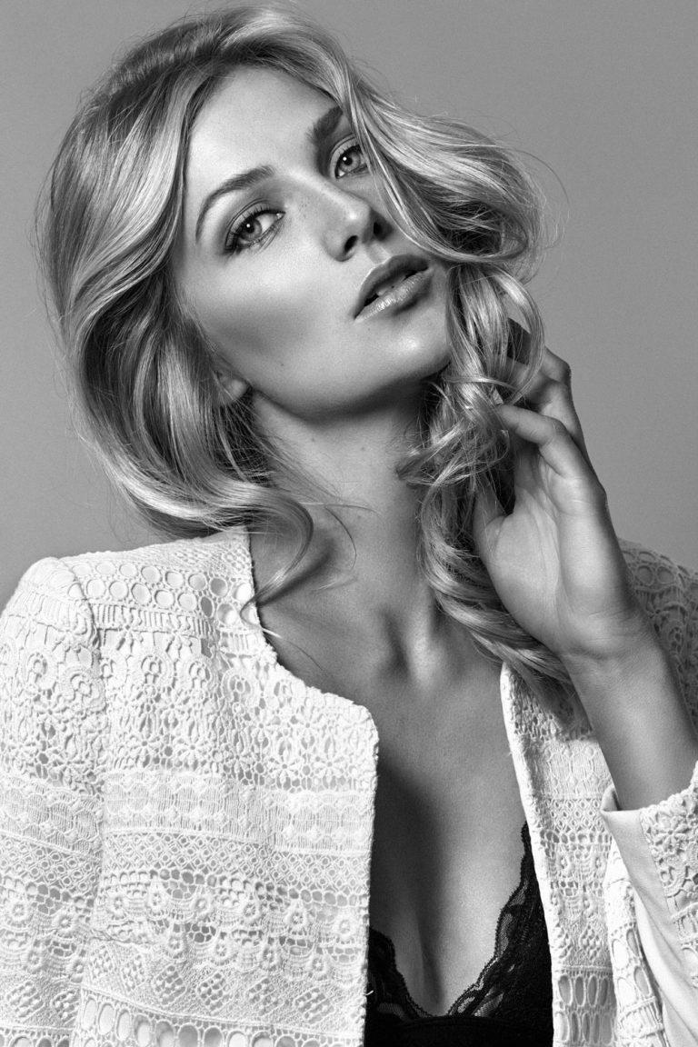 model pose woman face Calgary international