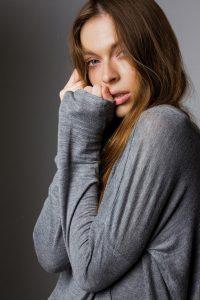 model pose woman half body Calgary international