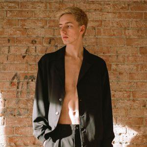 model pose man half body Calgary international
