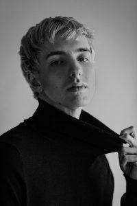 model pose man face Calgary international